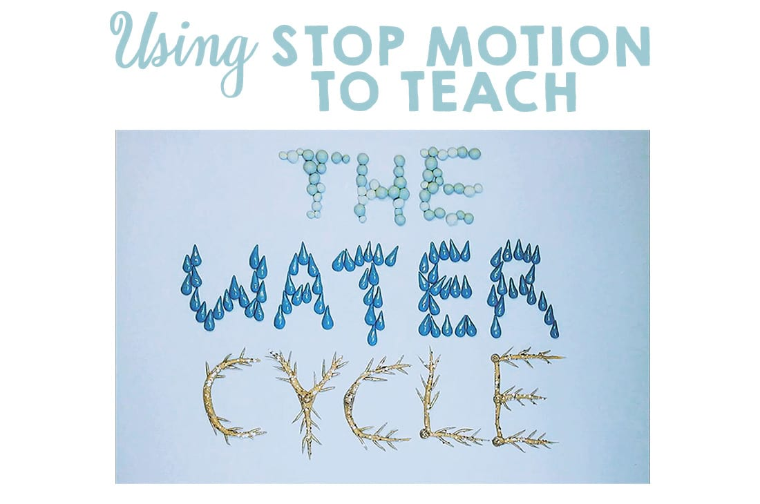 Water Cycle Project for Kids – Stop Motion Lesson Ideas