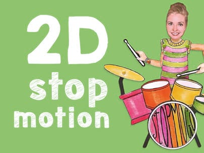 2d stop motion animation course