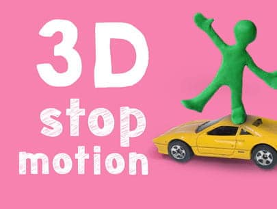 3D stop motion animation course