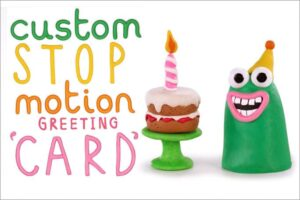 Stop Motion Birthday Card