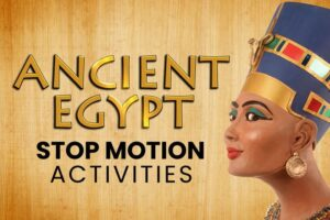 Ancient Egypt online stop motion workshop