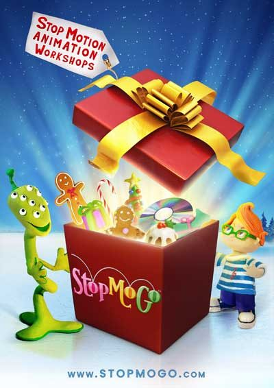 Christmas-stop-motion-animation-workshops