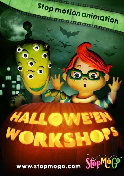 Halloween-stop-motion-animation-workshop