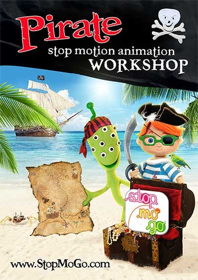 Pirates-stop-motion-animation-workshop